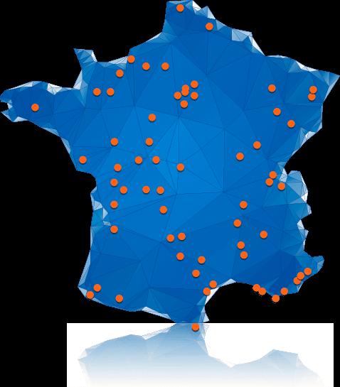 Soframap - Nos distributeurs en France